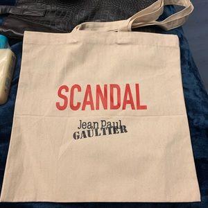 Scandal jean Paul gaultier tote bag